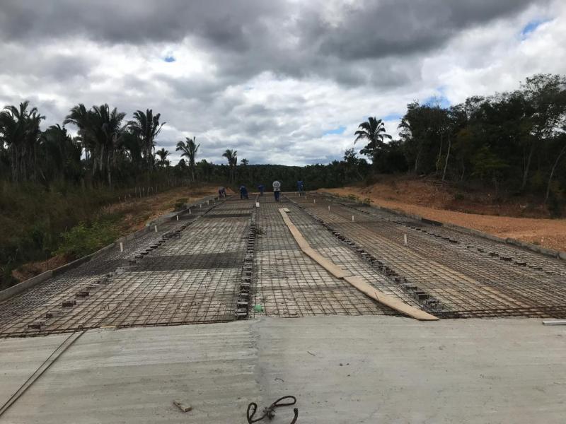 Retomada as Obras sobre a Ponte da Gameleira