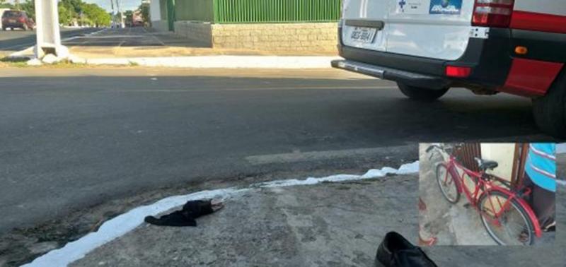 Idoso é atropelado por caçamba no interior do Piauí