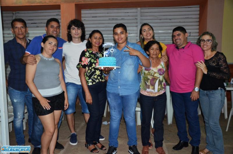 Aniversário de Francisco Gustavo
