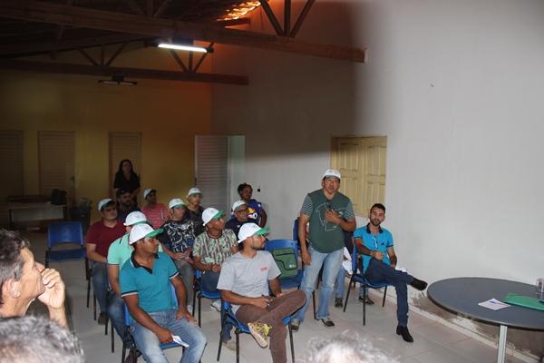 SENAR faz encerramento do curso de eletricista em Colônia do Gurgueia