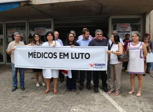 Pela 4ª vez, médicos do Piauí vão suspender atendimentos