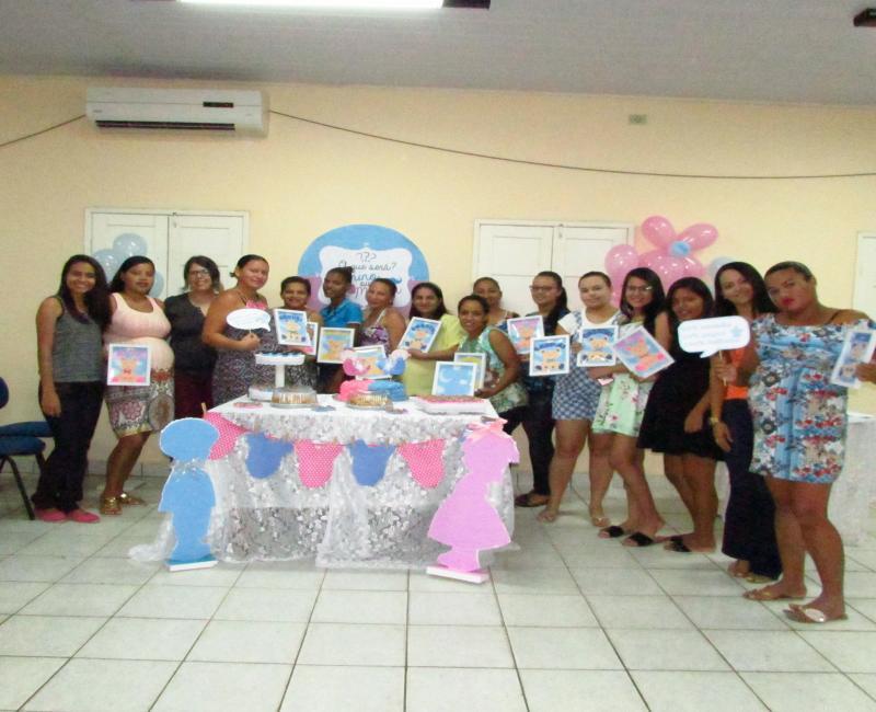 Secretaria de Saúde promove Confraternização com Gestantes