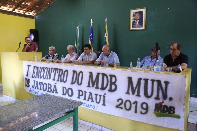 1° encontro do MDB municipal é realizado em Jatobá do Piauí