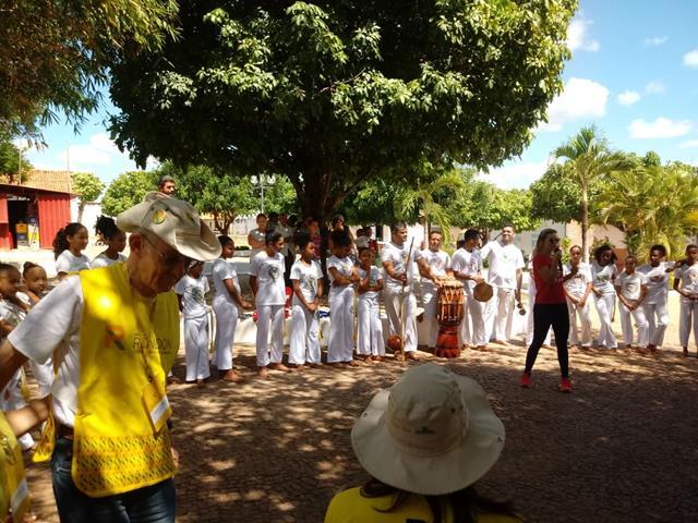 Rondonistas são recepcionados no município de Francinópolis