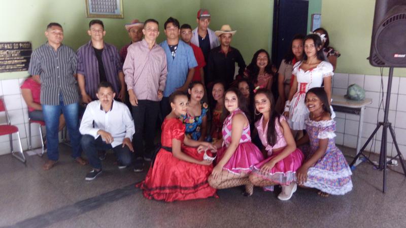 São Gonçalo do Piauí  Grupo Escolar Francisco Nunes realiza festa Junina