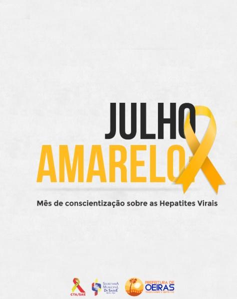 Julho Amarelo reforça prevenção das hepatites virais em Oeiras