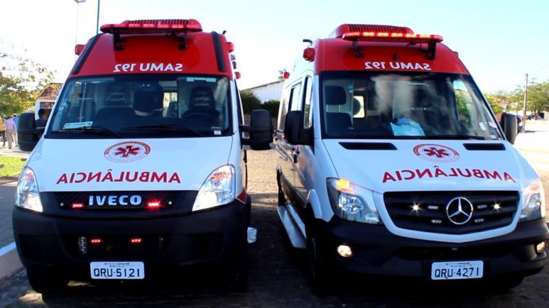 Oeiras recebe ambulância de suporte avançado do SAMU