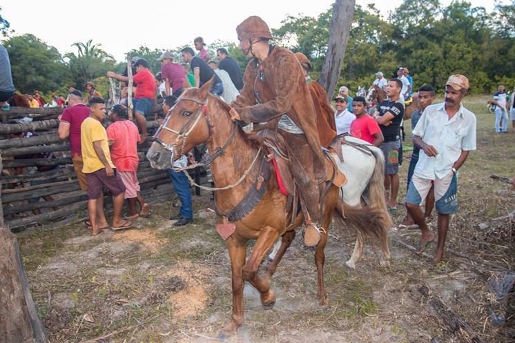 Dia do Vaqueiro nos Festejos de Nossa Senhora do Carmo em Miguel Alves