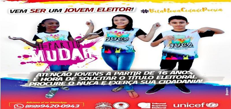 Nuca mobiliza campanha para obtenção do título de eleitor