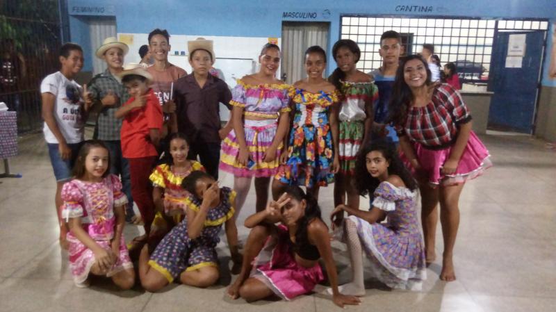 São Gonçalo do Piauí | Festa junina é realizada pela U.E. Sebastião Cruz