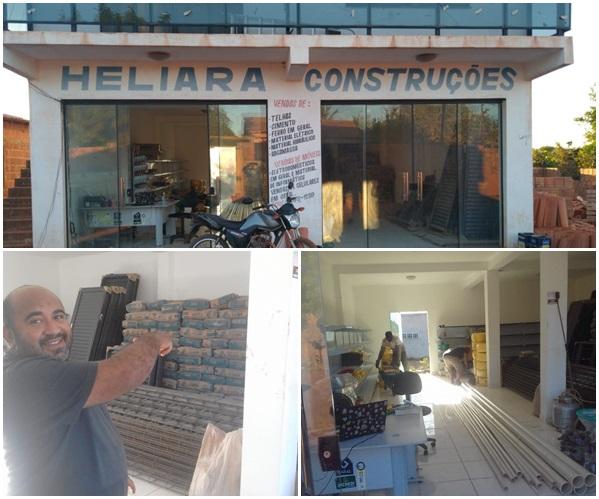 Heliara Construções (Borrachinha), Nova Opção em Materiais de Construção