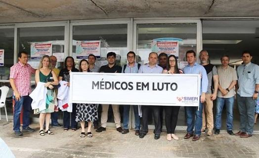 Médicos do Piauí suspendem atendimentos a partir desta terça