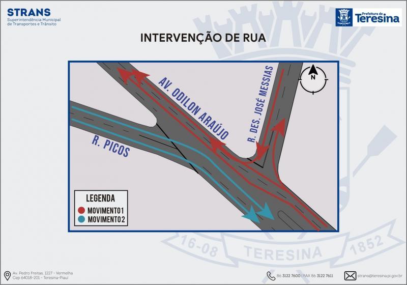 A partir de sábado, região da Piçarra sofrerá intervenções no trânsito