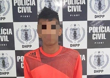 Menor é apreendido acusado de matar e amarrar jovem em Teresina