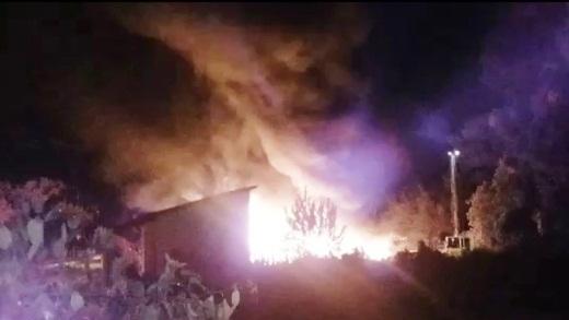 Explosão e incêndio assustam moradores no interior do Piauí