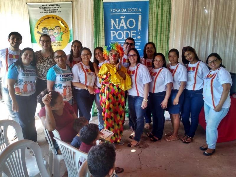 Prefeitura promoveu projeto 'Cuidando da Saúde da Criança' em Altos