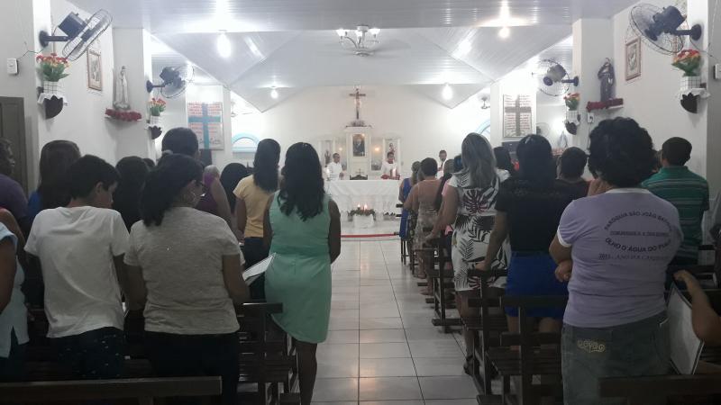 Missa Solene em Ação de Graças encerra as festividades de aniversário em Olho D'água
