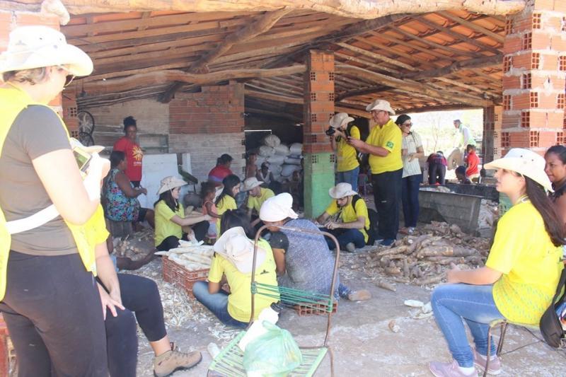 Rondonistas visitam comunidade rural em São José