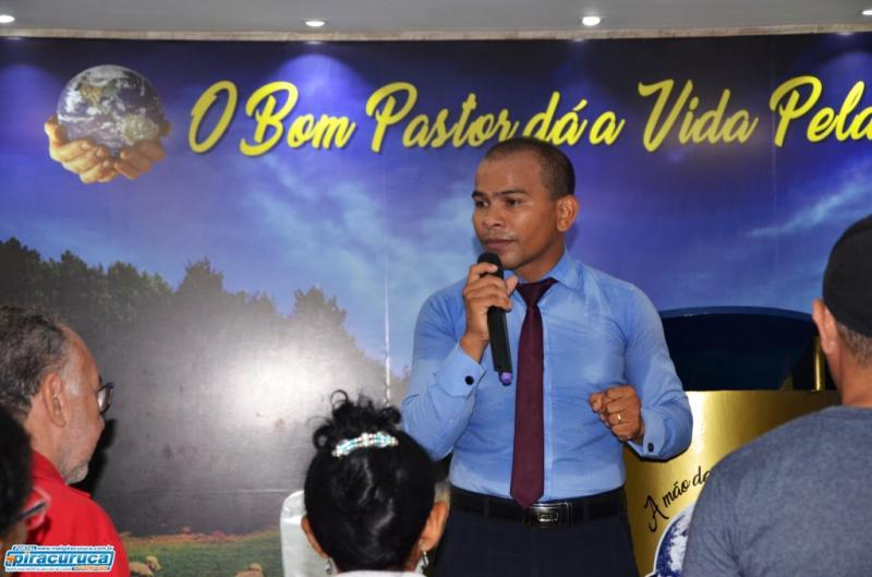 Culto marca posse do novo pastor da Igreja Mundial do Poder de Deus em Pira