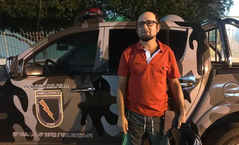 PM de Valença prende suspeito de cometer homicídio em SP