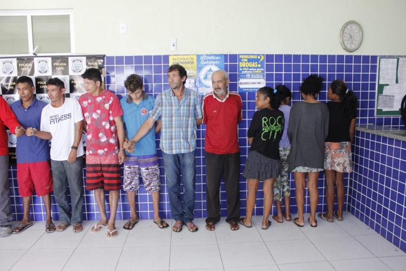 Operação  prende suspeitos de homicídio, tráfico e estupro