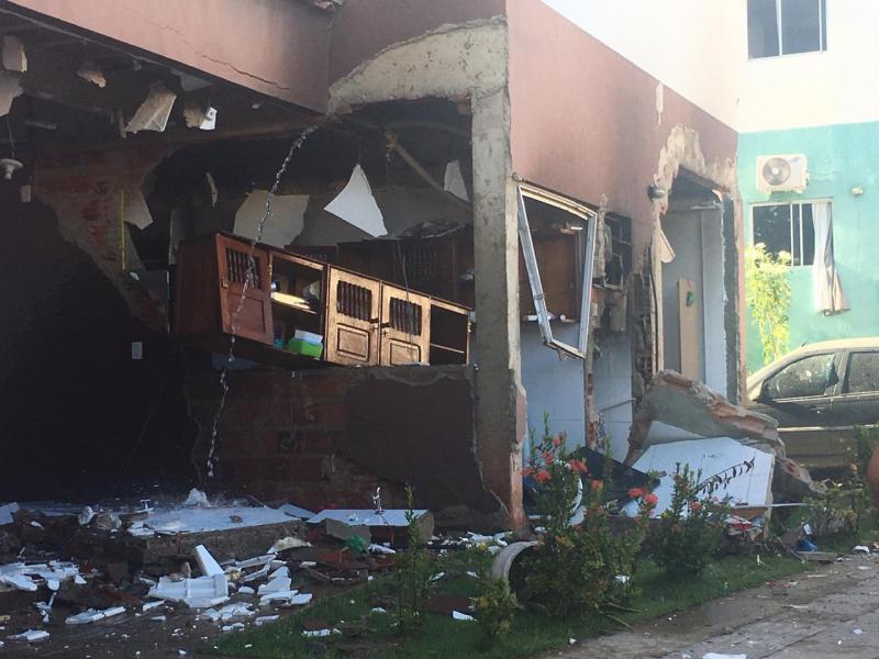 Explosão em apartamento deixa dois feridos em Teresina