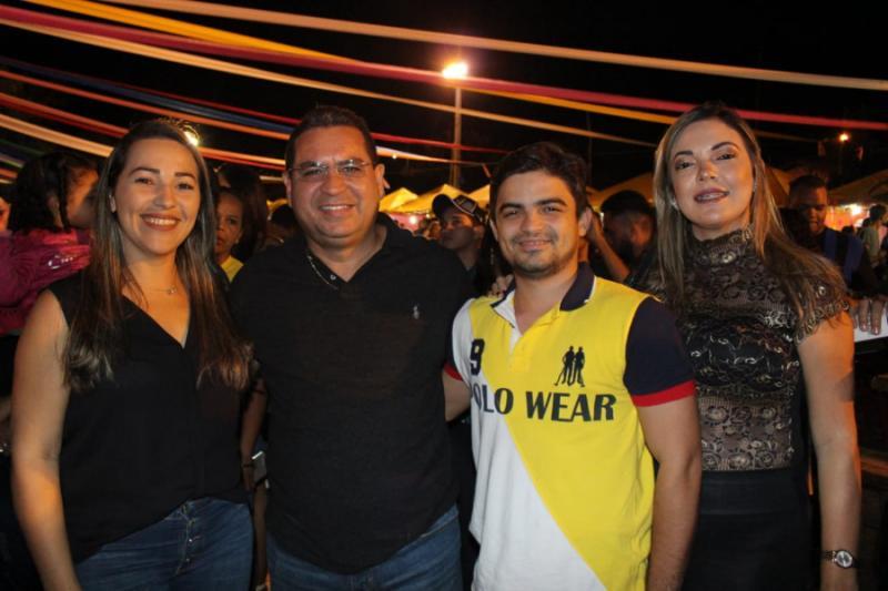 Júnior Carvalho marca presença na 19ª Semana Cultural de Monsenhor Gil