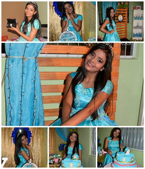 Festa de aniversário da debutante Yohhanna Vitória em Campo Largo-PI