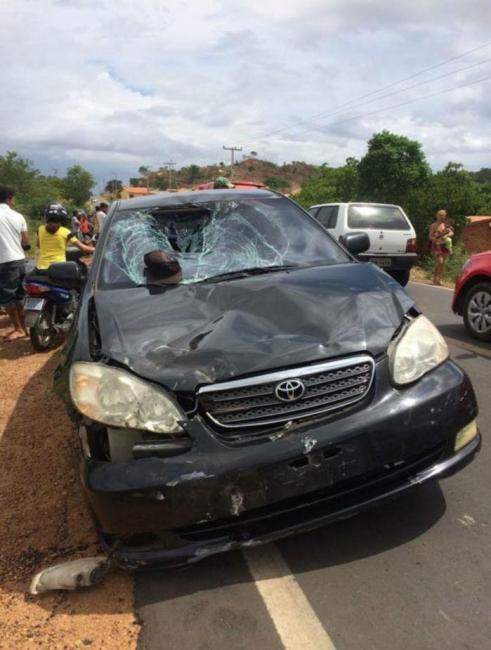 Acidente deixa uma pessoa morta e outra gravemente ferida no Piauí