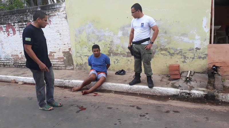 BENEDITINOS: Homem não respeita ordem de policia e é alvejado