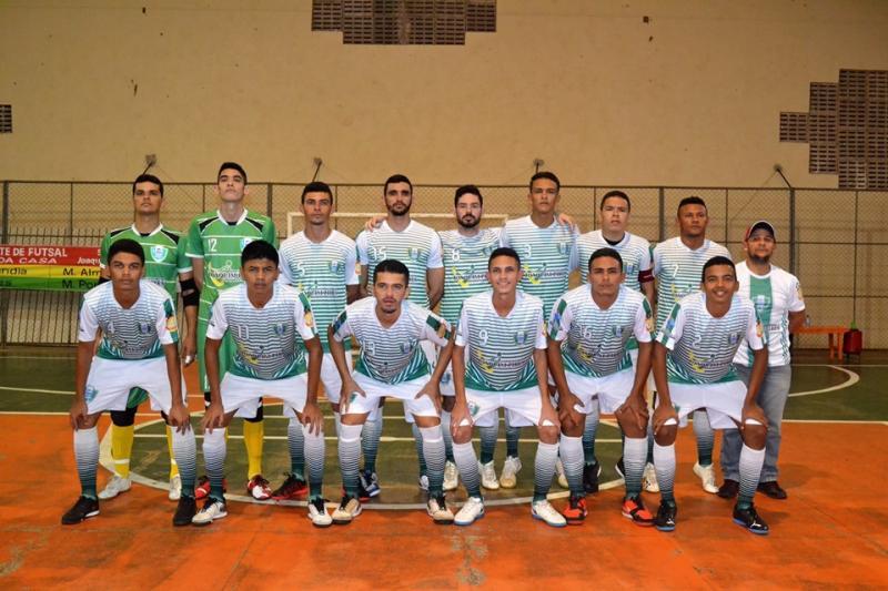 Seleção de Joaquim Pires vence de goleada na estreia da II Copa Norte de Fu