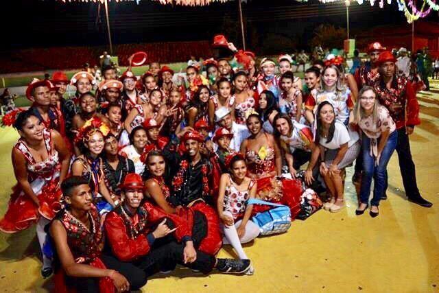 Grupo Junino Verde e Amarelo de Picos ganham festival em Francinópolis