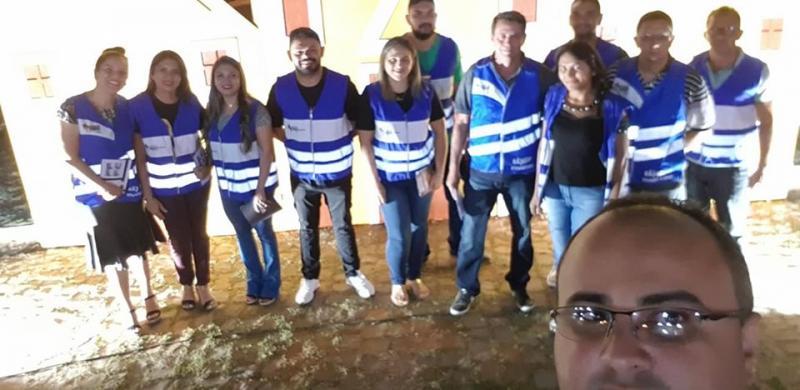 15ª Ciretran e NUPEVA realizam ação educativa no festejo de Pastos Bons