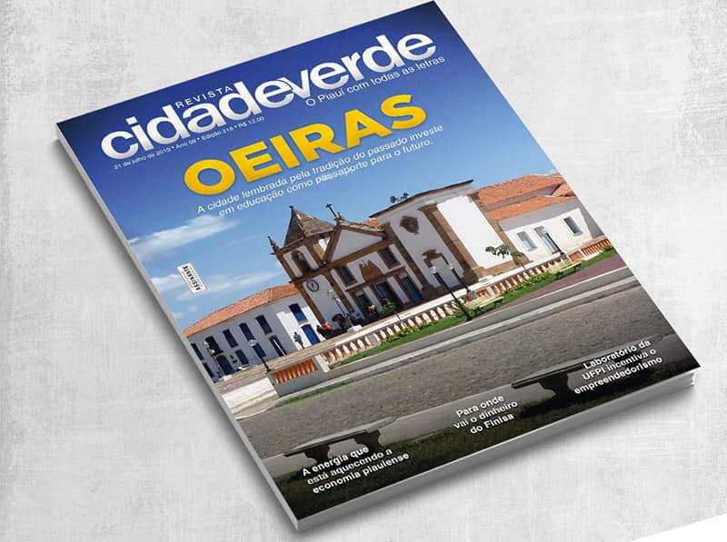 Oeiras é destaque na Revista Cidade Verde: 'educação de primeira'
