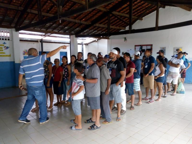 Produtores rurais participam de oficinas de empreendedorismo em Oeiras