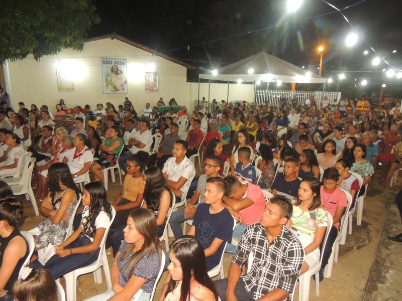4ª novena nas festividades de São José em Campo Largo do Piauí - PI
