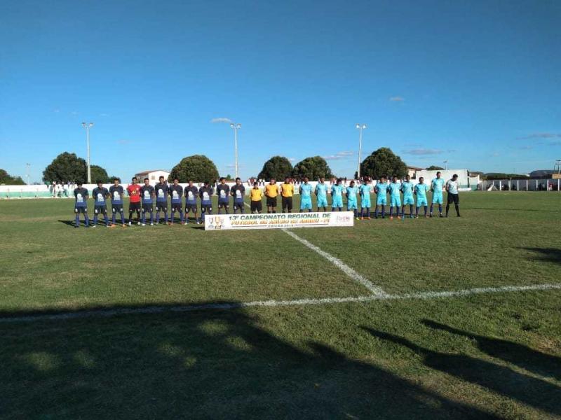 Times anisienses avançam para as semifinais do Campeonato Regional