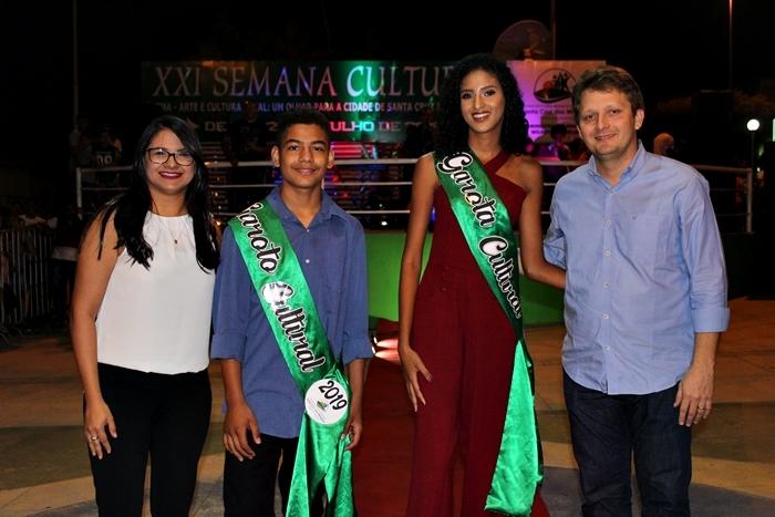 Desfile da Garota e Garoto Cultural 2019 em Santa Cruz dos Milagres