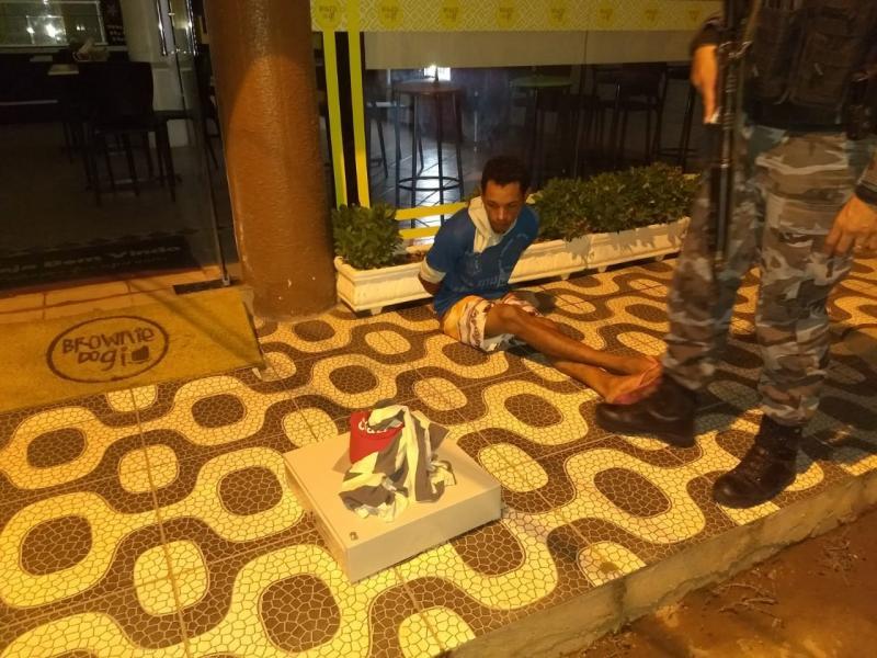 Homem é preso suspeito de arrombar loja de doces em Picos