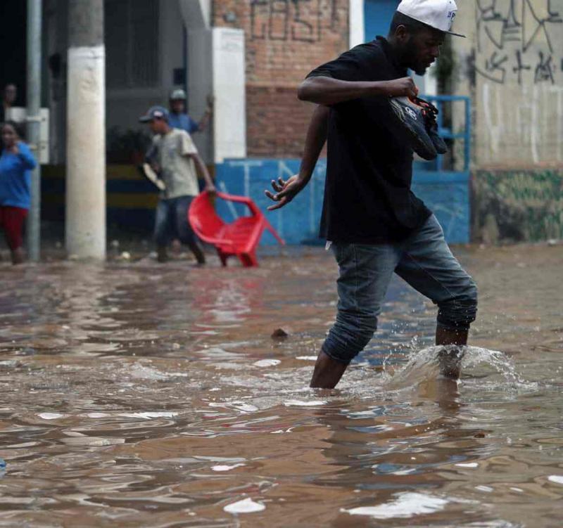 Fortes chuvas deixam cinco mortos em Pernambuco