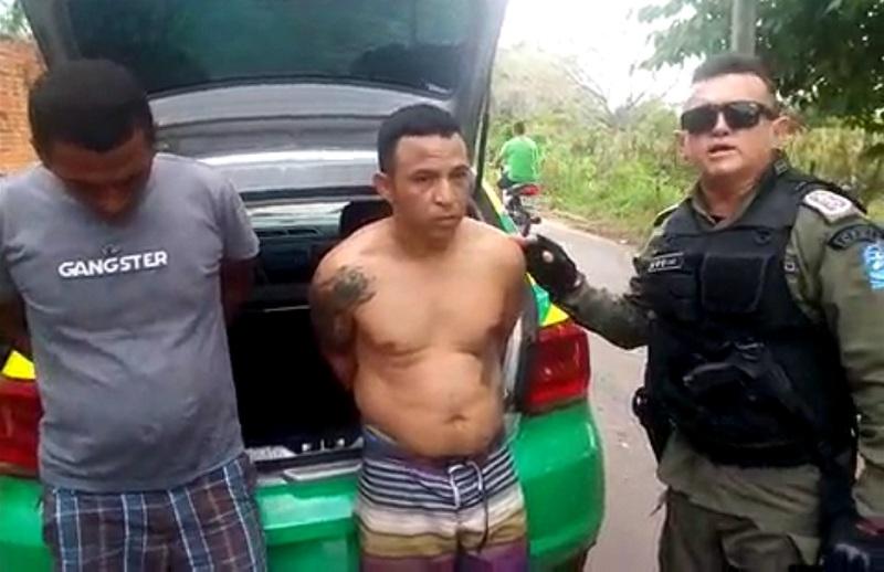 Polícia Militar captura dois fugitivos da penitenciária Major César