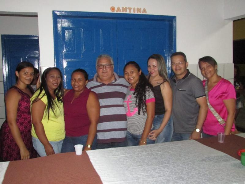 Prefeito de Lagoinha  Dr. Alcione participa de festa dos idosos
