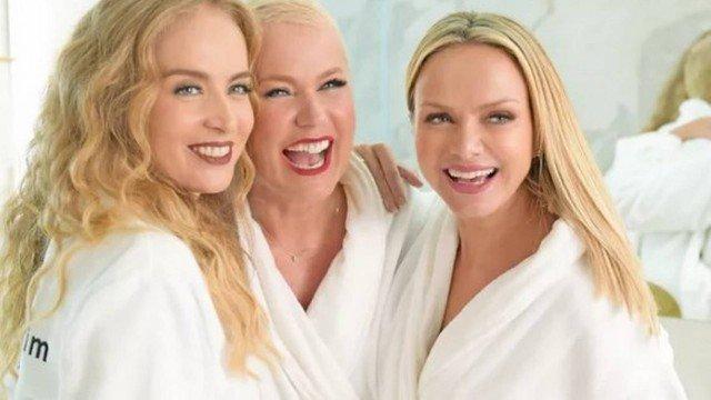 Angélica, Xuxa e Eliana ironizam suposta rivalidade em campanha