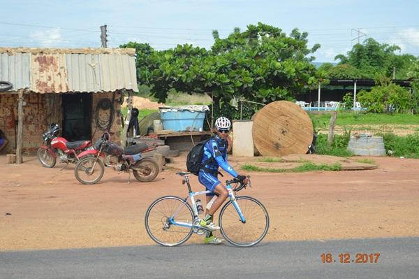 Joel Duarte, de São Paulo ao Piauí numa bicicleta.