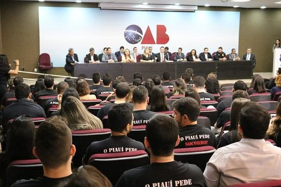 OAB Piauí promove Audiência Pública sobre aprovados em concurso Público