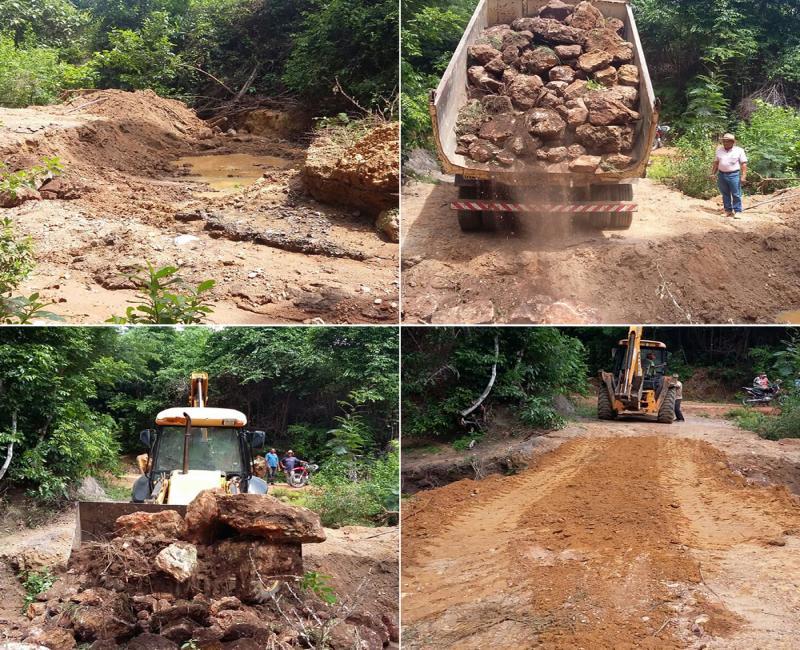Prefeitura Municipal de Uruçuí faz Recuperação de Ponte na Zona Rural
