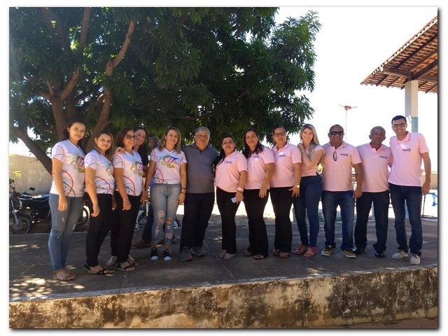 Interação entre grupo de Idosos de Santana do Piauí e Inhuma
