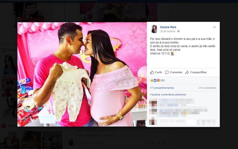Homem mata a esposa grávida um dia antes do parto