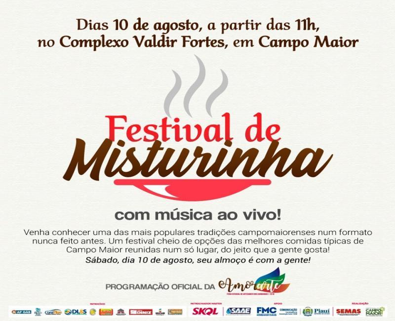 Festival de Misturinha será umas das novidades da 3° edição da Amorarte