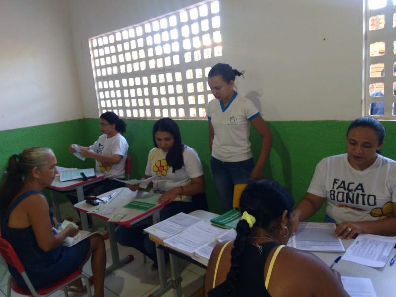Prefeitura Itinerante de Pau D'arco do PI leva atendimento à zona rural